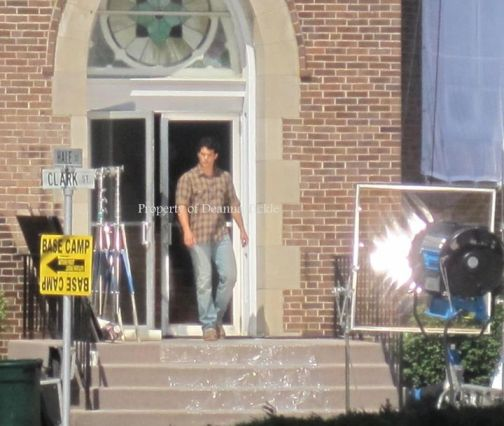 Henry Cavill, Man of Steel 2012, Set, 01