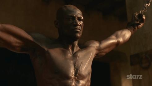 Peter Mensah, Spartacus Vengeance, 01
