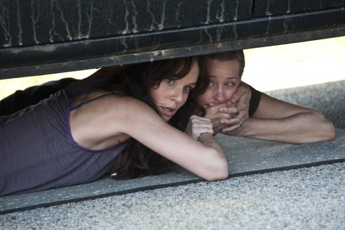Sarah Wayne Callies, Melissa Suzanne McBride, The Walking Dead, Miles Behind Us