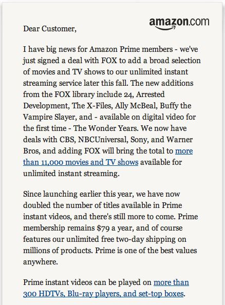 Amazon, Fox, Streaming Amazon Prime Jeff Bezos Letter, 01