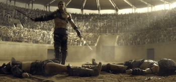 Dustin Clare, Spartacus Gods of the Arena, The Bitter End