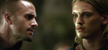 Joseph Fiennes, Jamie Campbell Bower, Camelot 2011