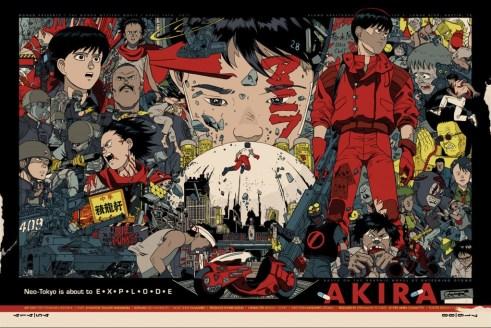 Akira Poster, Tyler Stout
