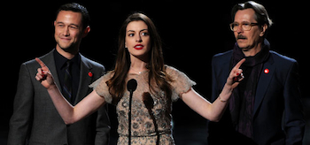 Anne Hathaway, Gary Oldman, Joseph Gordon-Levitt, Scream Awards