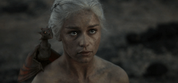 Emilia Clarke, Game of Thrones, Fire and Blood