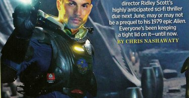 Logan Marshall-Green, Prometheus, Entertainment Weekly