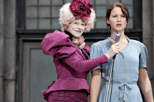Jennifer Lawrence, Elizabeth Banks, The Hunger Games