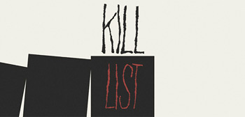Kill List Mondo Movie Poster