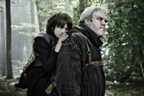 Isaac Hempstead-Wright, Kristian Nairn, Game of Thrones