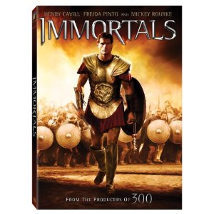 Immortals DVD Cover