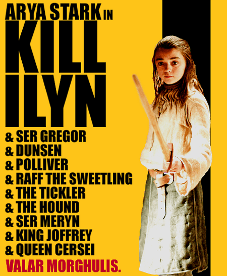 Kill Ilyn, Game of Thrones Poster