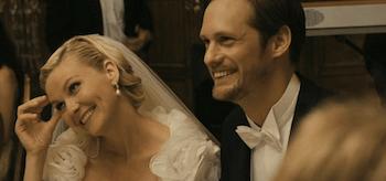 Kirsten Dunst, Alexander Skarsgård, Melancholia