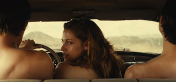 Kristen Stewart, On the Road