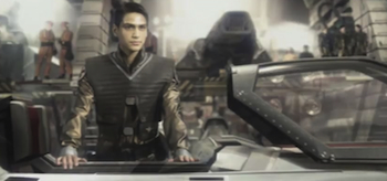 Luke Pasqualino, Battlestar Galactica: Blood & Chrome
