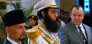 Sacha Baron Cohen The Dictator John C. Reilly Ben Kingsley