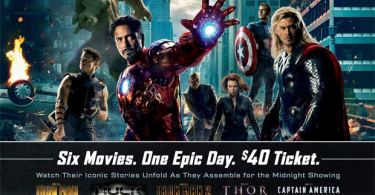 The Ultimate Marvel Marathon Poster