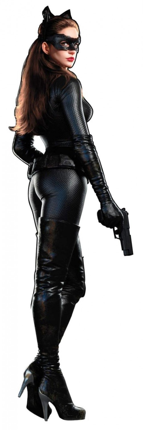 Anne Hathaway Catwoman Promo Art