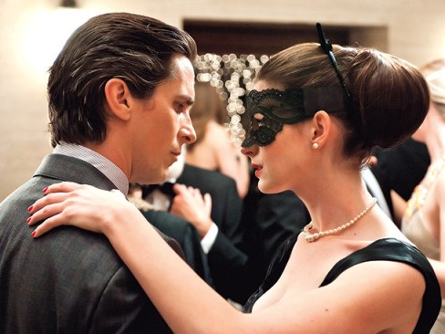 Christian Bale Anne Hathaway The Dark Knight Rises Dancing