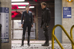 Cobie Smulders Jeremy Renner The Avengers