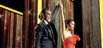 Stanley Tucci Jennifer Lawrence The Hunger Games