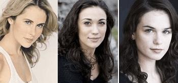 Anna Hutchison, Jenna Lind, Gwendoline Taylor