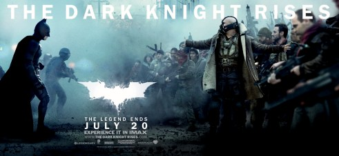 Batman Bane The Dark Knight Rises Movie Banner