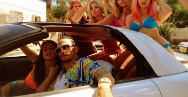 James Franco Selena Gomez Car Spring Breakers