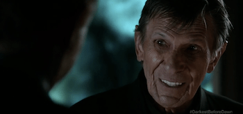 Leonard Nimoy Fringe Brave New World Part 1