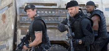 Sylvester Stallone Jason Statham Terry Crews The Expendables 2