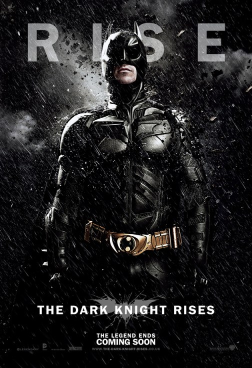 The Dark Knight Rises Batman Poster