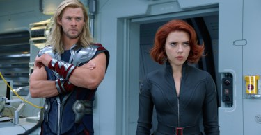 Thor Black Widow The Avengers