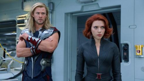 Thor Black Widow The Avengers