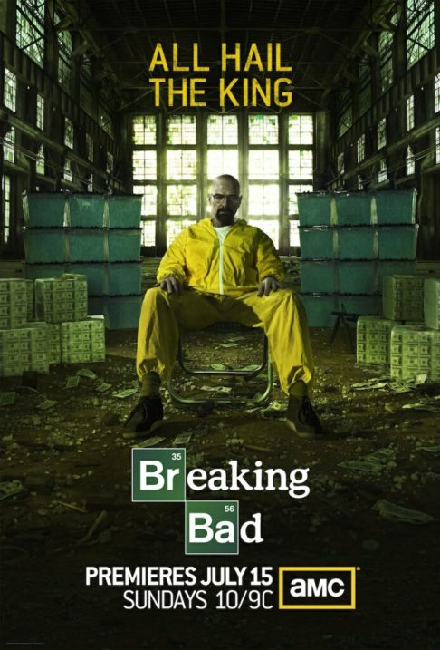 Breaking Bad Season 5 TV Show Poster