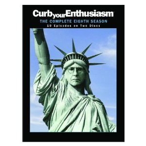 Curb Your Enthusiasm Season 8 DVD Cover