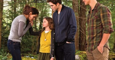 Kristen Stewart Robert Pattinson Taylor Lautner Mackenzie Foy The Twilight Saga Breaking Dawn Part 2 Entertainment Weekly