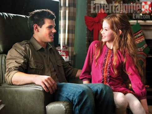Taylor Lautner Mackenzie Foy The Twilight Saga Breaking Dawn Part 2 Entertainment Weekly