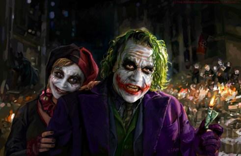 Joker Harley Quinn Iricolor