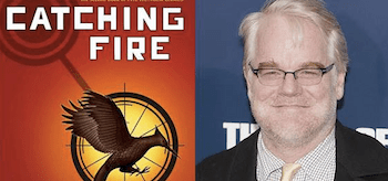 Philip Seymour Hoffman Catching Fire Logo