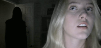 Blonde Paranormal Activity 4
