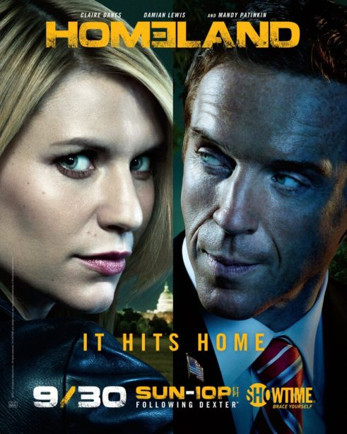 Homeland Season 2 TV show poster