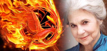 Lynn Cohen The Hunger Games Catching Fire Logo