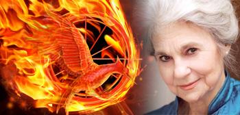 Lynn Cohen The Hunger Games Catching Fire Logo