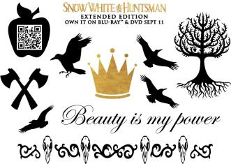 Snow White and the Huntsman Tattoos