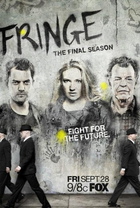 Fringe Season 5 TV show poster
