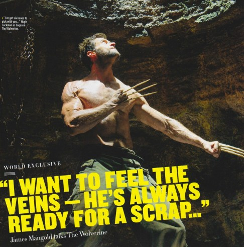 Hugh Jackman Empire Magazine December 2012 The Wolverine Bone Claws