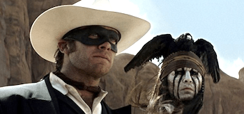 Johnny Depp Armie Hammer The Lone Ranger