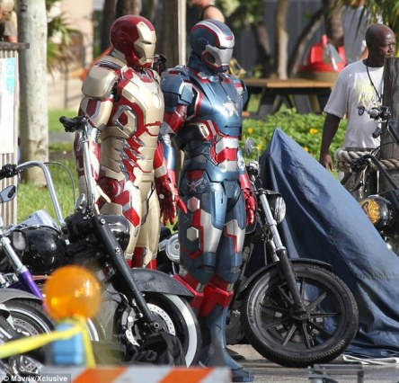 Mark XLVII Iron Patriot Iron Man 3