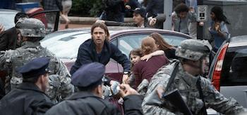 Brad Pitt Mireille Enos World War Z