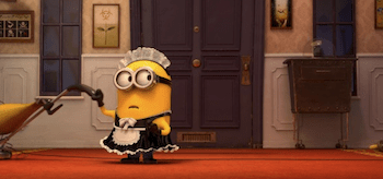 Minion Maid Despicable Me 2