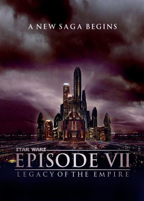 Star Wars Episode 7 Movie Poster David Catterall